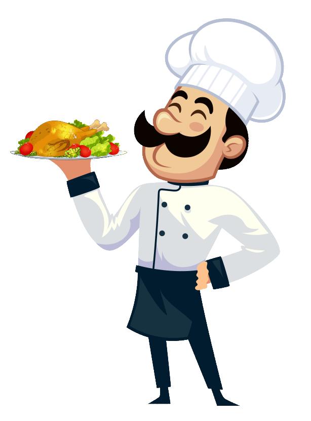 obrázok kuchára