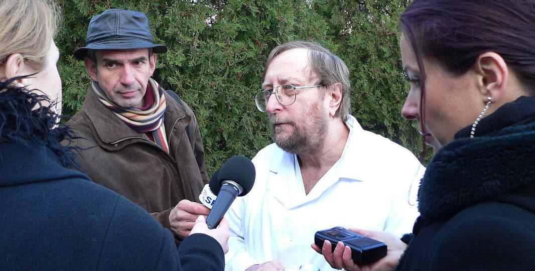 Slávnostné odovzdanie hniezda záchrany 9. 12. 2005