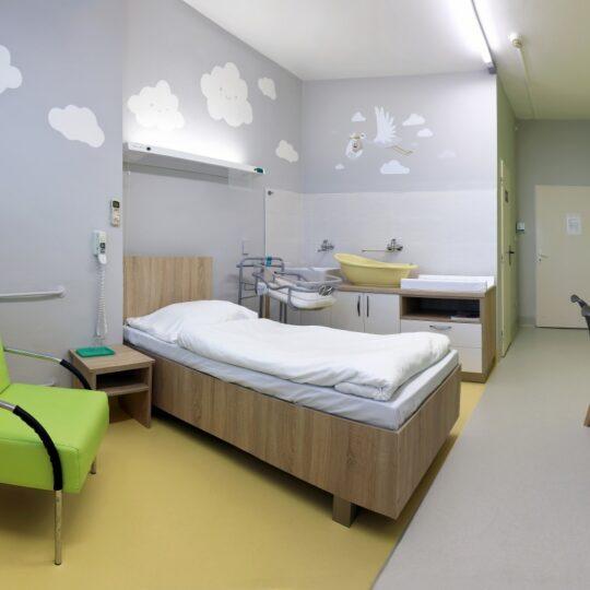 Nadštandardná izba na úseku rooming-in